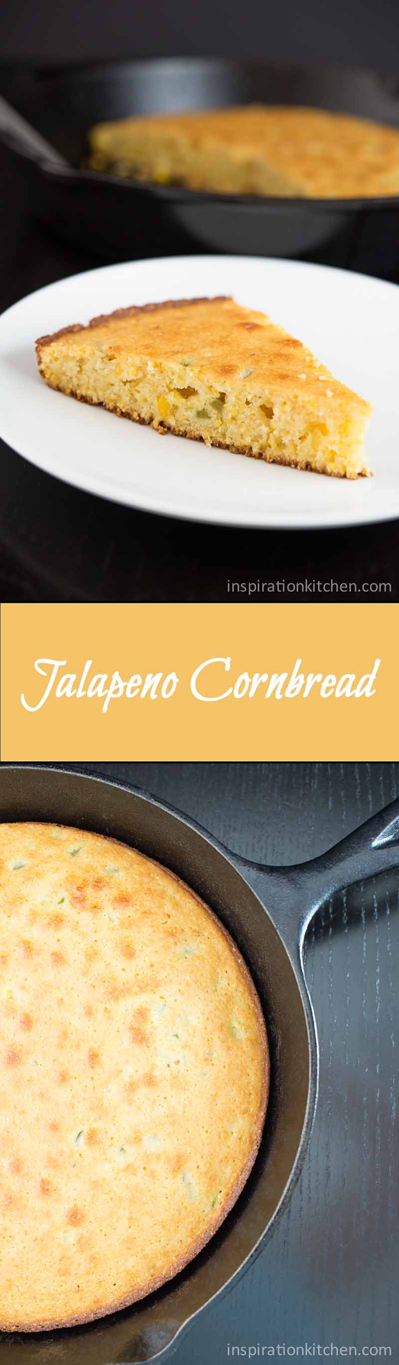 Jalapeno Cornbread Collage | Inspiration Kitchen