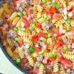One Skillet Cheeseburger Pasta | Inspiration Kitchen