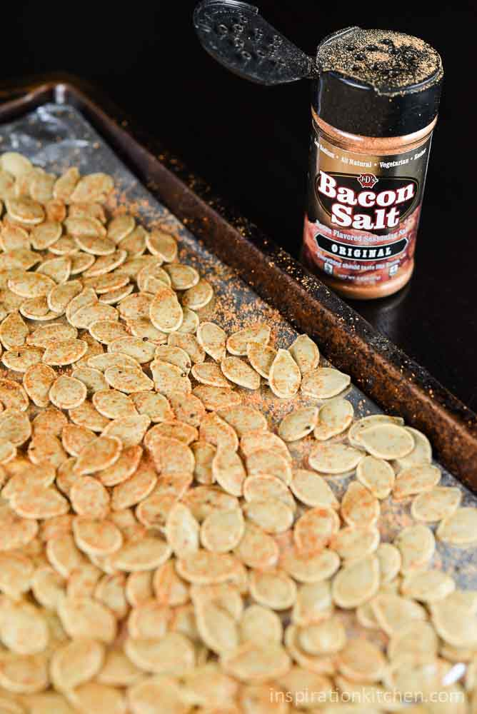Roasted Pumpkin Seeds | Inspiration Kitchen