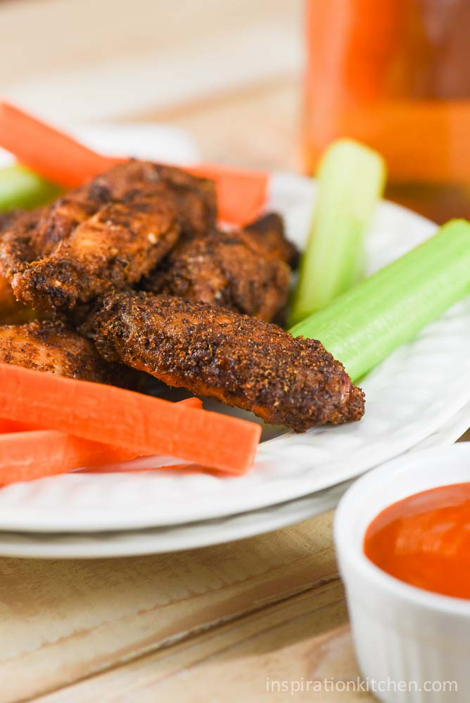 Baked Creole Seasoned Dry Rub Chicken Wings   Inspiration Kitchen