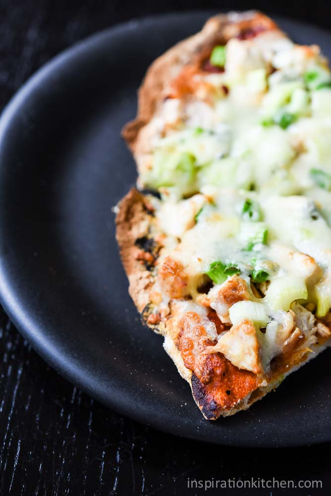 Buffalo Chicken Pizza | Inspiration Kitchen