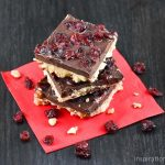 Dark Chocolate Hazelnut Cranberry Buttercrunch
