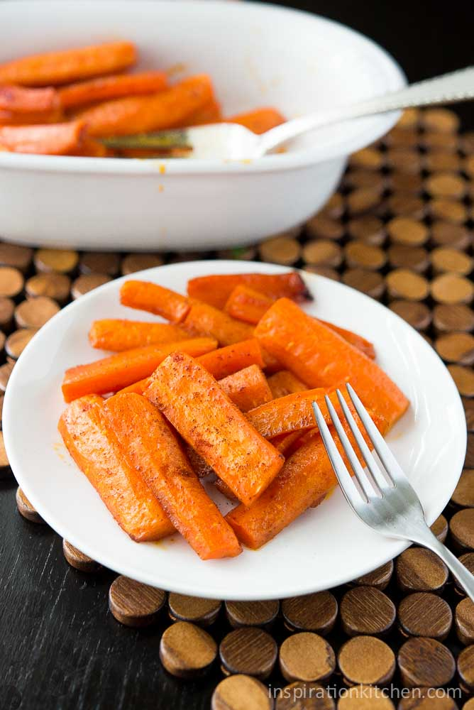 Honey Chipotle Roasted Carrots | Inspiration Kitchen