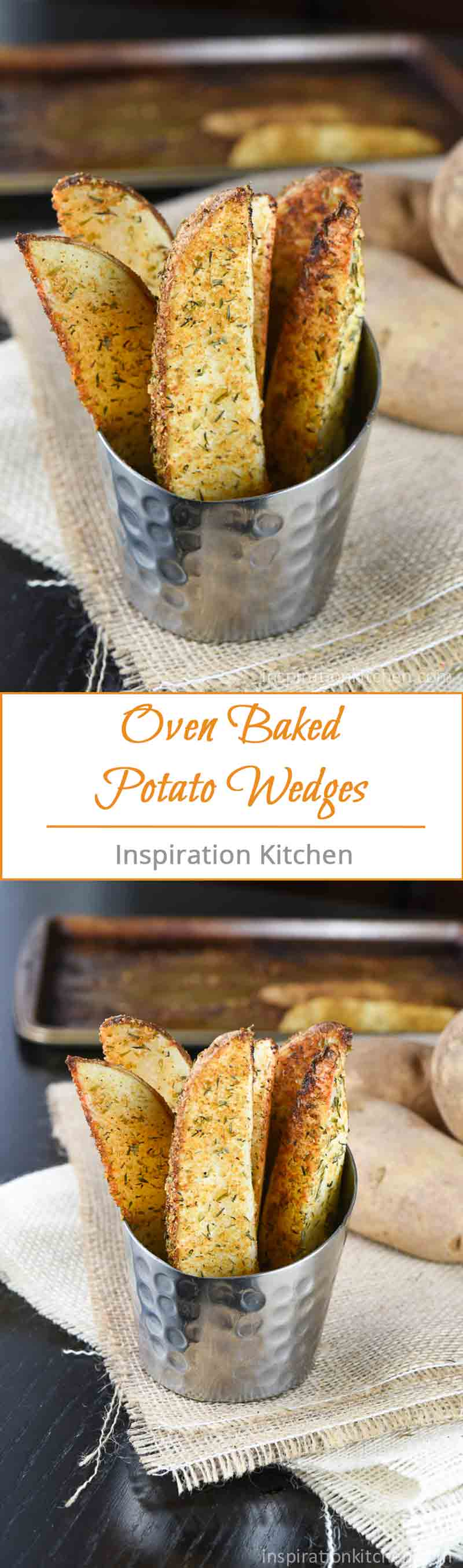Oven Baked Potato Wedges | Inspiration Kitchen