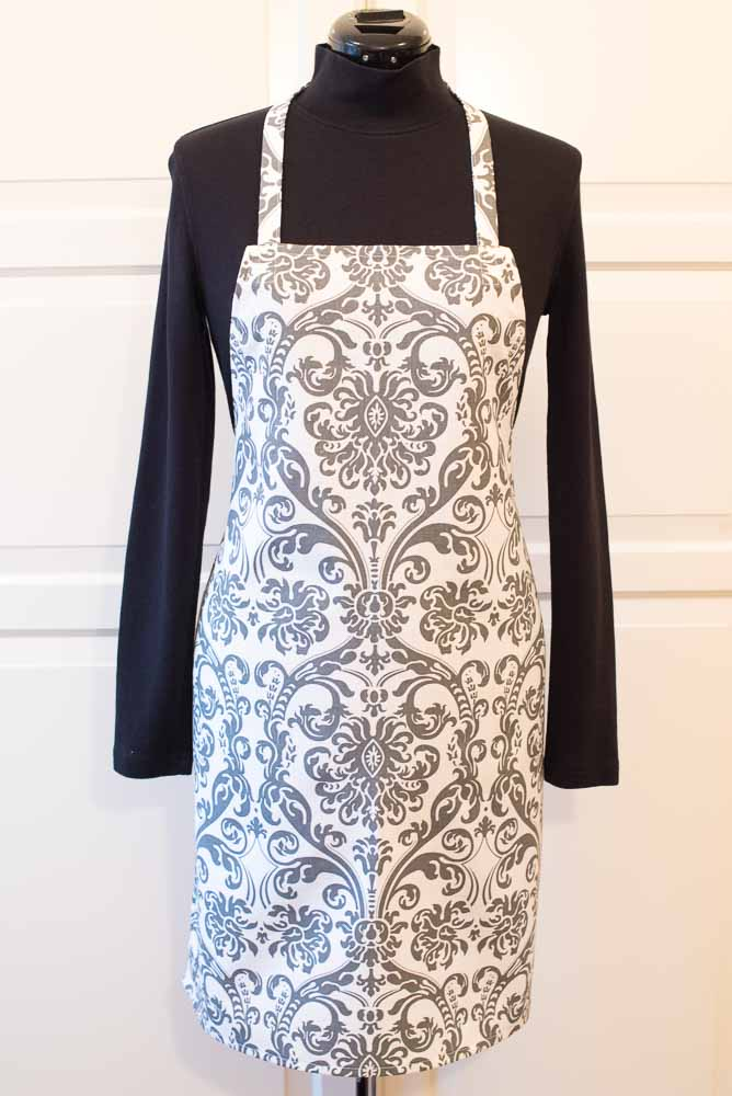 Flamingo Gray Apron | Inspiration Kitchen