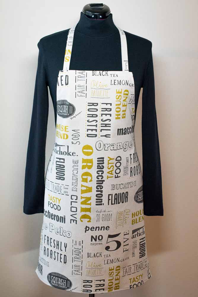 Food Words Apron | Inspiration Kitchen-2
