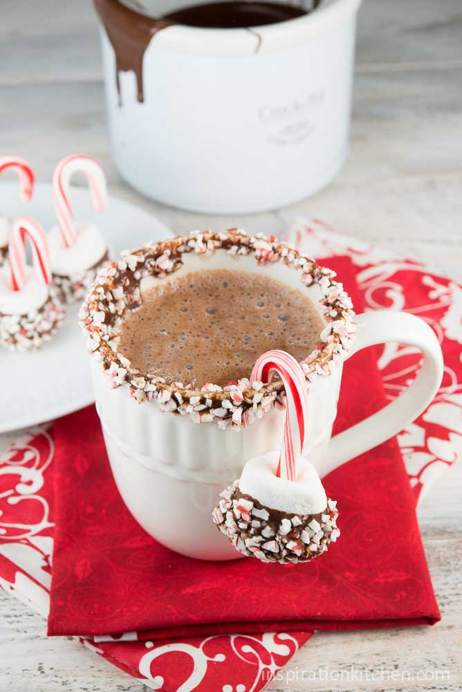 The World's Best Hot Chocolate - inspirationkitchen.com