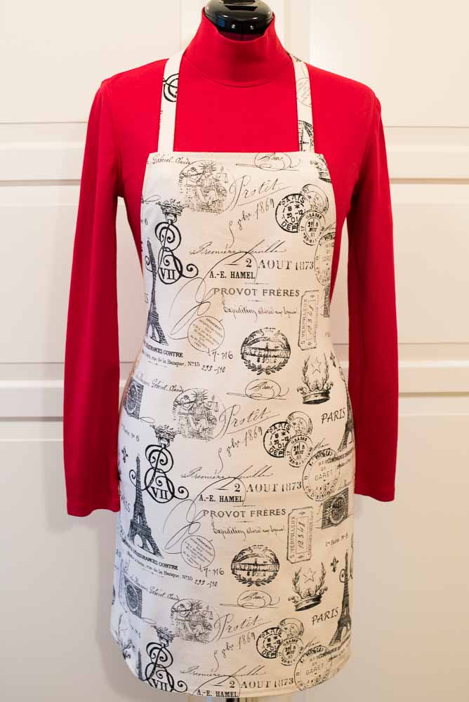 Paris Party Apron | Inspiration Kitchen