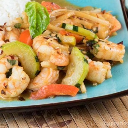 Spicy Red Curry Shrimp Feature | Inspiration Kitchen