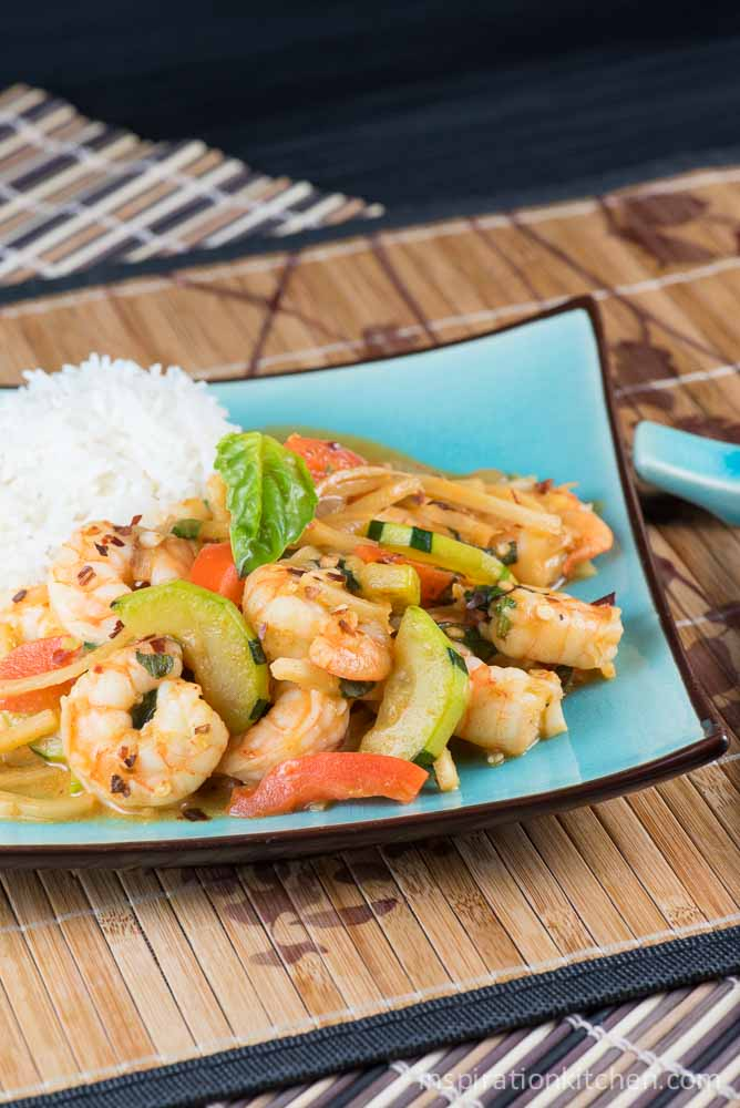 Spicy Red Curry Shrimp | Inspiration Kitchen
