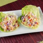 Healthy Chipotle Chicken & Vegetable Lettuce Wraps