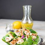 Grilled Chicken Salad Poppyseed Dressing | Inspiration Kitchen