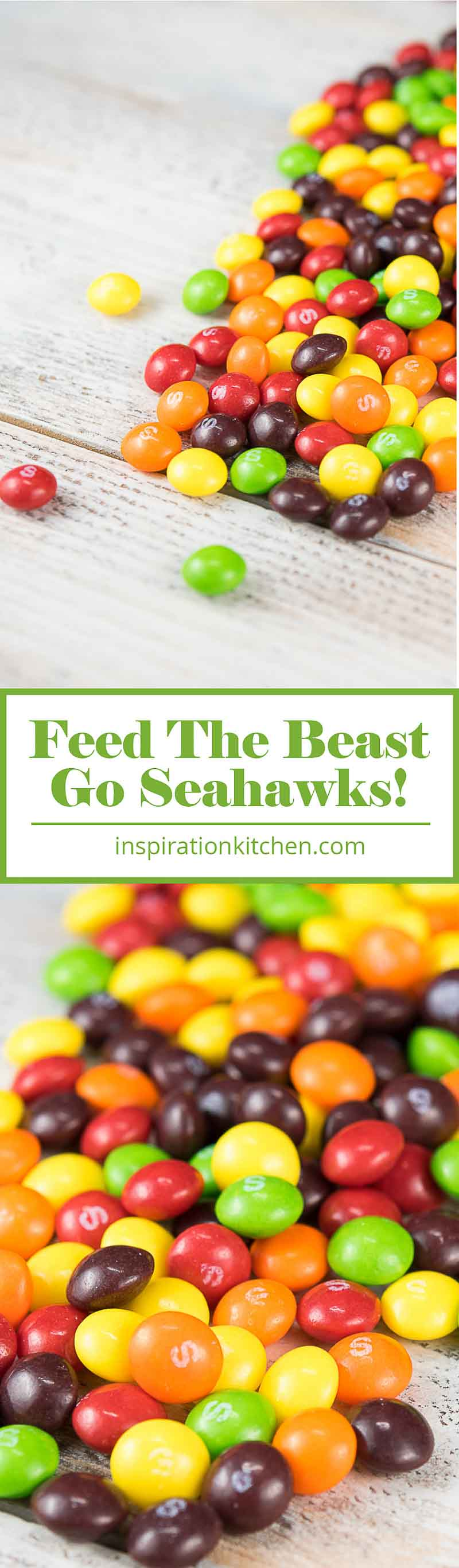 Seahawks Super Bowl 2015 Skittles | Inspiration Kitchen