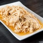 Slow Cooker Shredded Chipotle Chicken