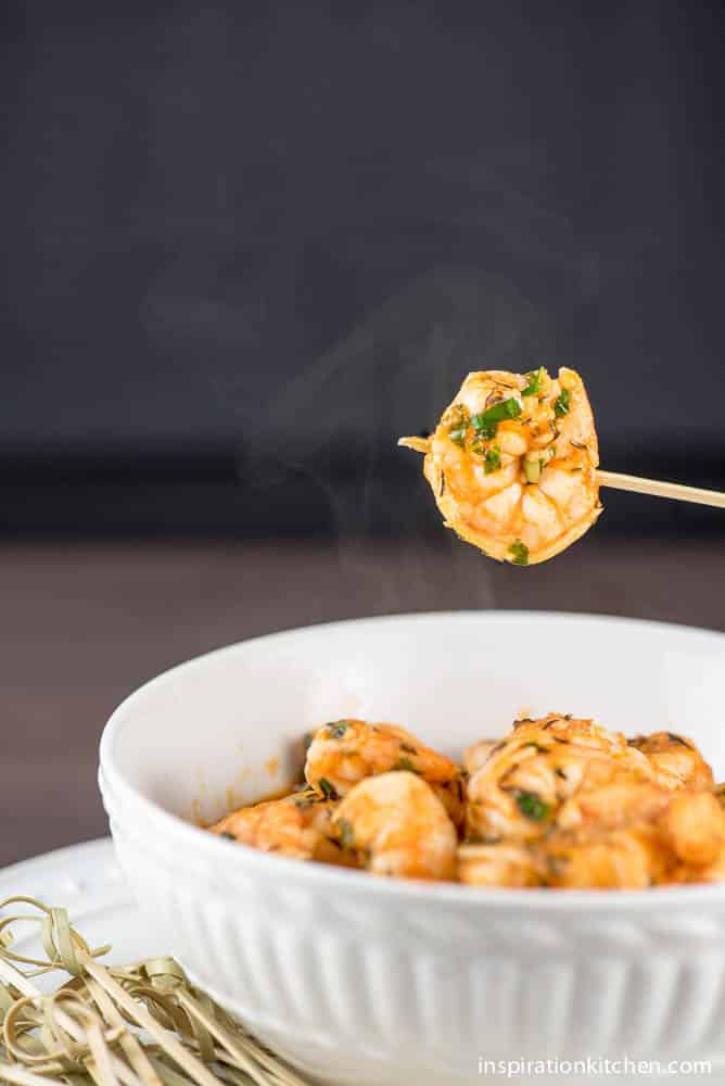 Sriracha Buttered Shrimp | Inspiration Kitchen