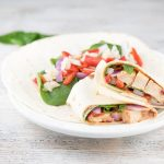 Healthy Spinach & Chipotle Chicken Wraps {And A $400 Amazon Gift Card Giveaway}