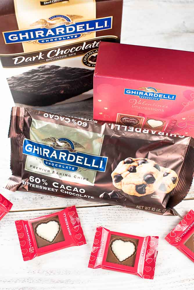 Ghirardelli Dark Chocolate Hot Fudge Sundae Brownie | Inspiration Kitchen