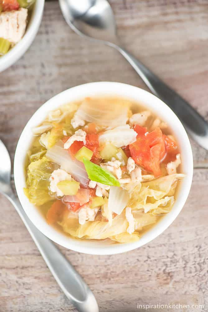 Healthy Cabbage Soup - inspirationkitchen.com