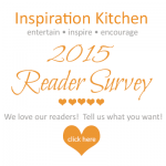Inspiration Kitchen – 2015 Reader Survey