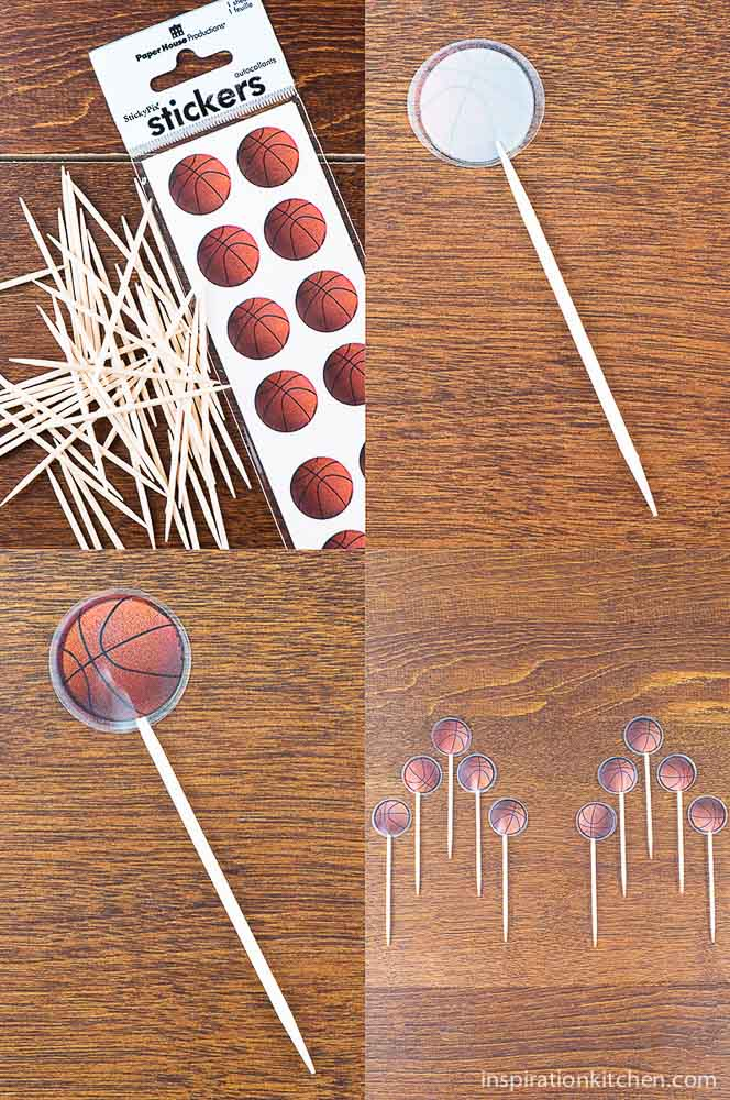 Basketball Skewers Craft Project | Inspiration Kitchen