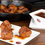 Chipotle Cherry Coke Turkey Meatballs