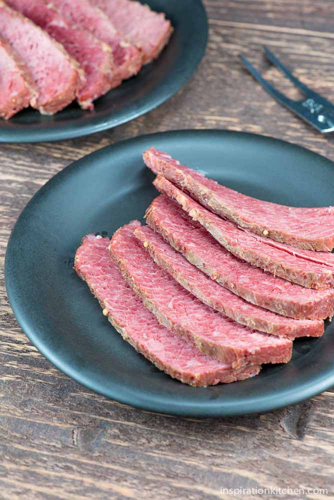 Slow Cooker Corned Beef with Stout Beer   Inspiration Kitchen