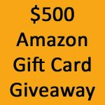 500 Amazon Gift Card Giveway | Inspiration Kitchen