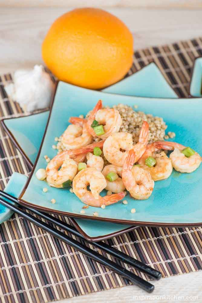 Spicy Orange Shrimp | Inspiration Kitchen