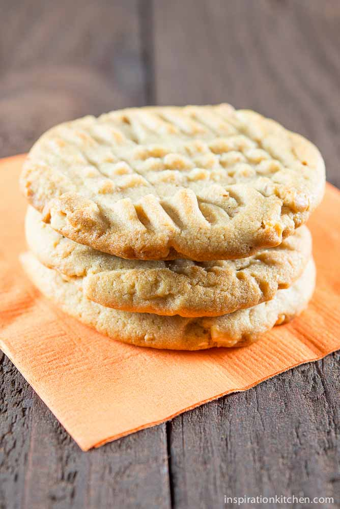 Whole Jar Peanut Butter Cookies | Inspiration Kitchen