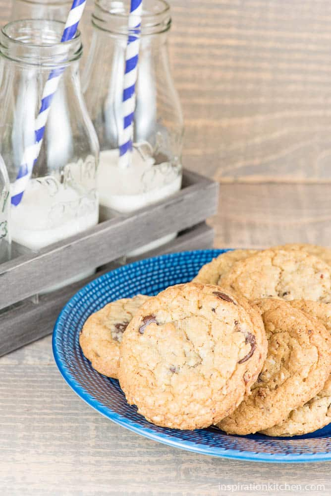 Chocolate Chip Cookies With Walnuts | Inspiration Kitchen