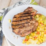 Ancho Chili Rubbed Pork Chops