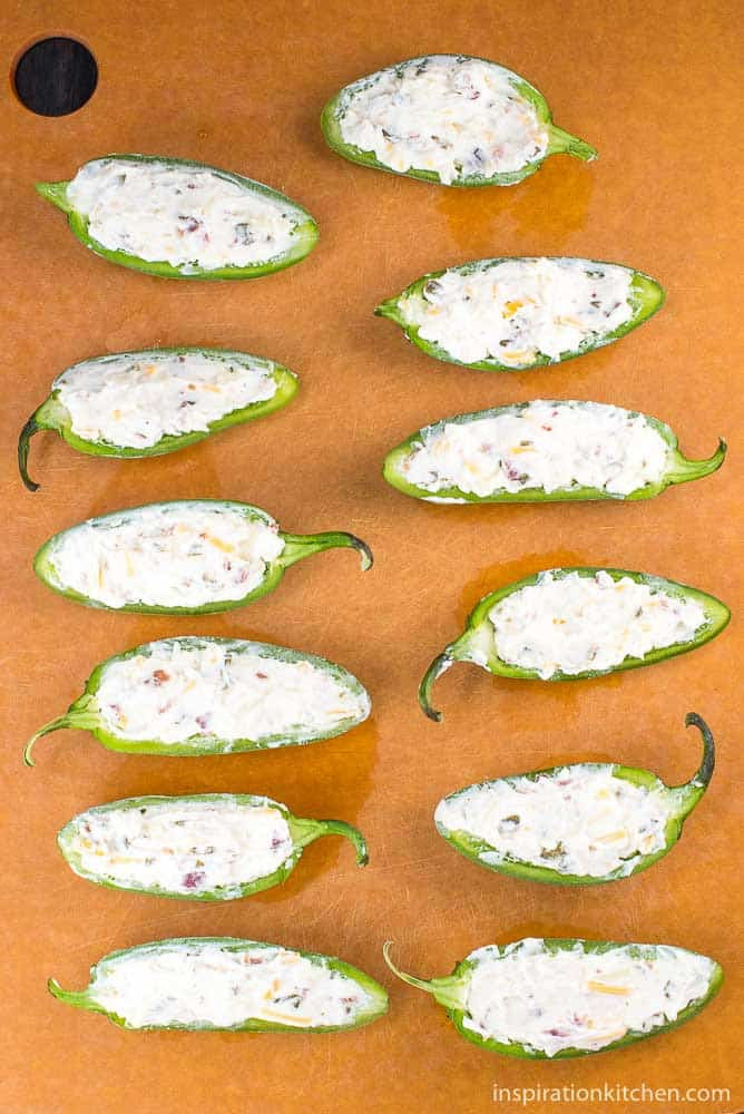 Grilled Jalapeno Poppers | Inspiration Kitchen