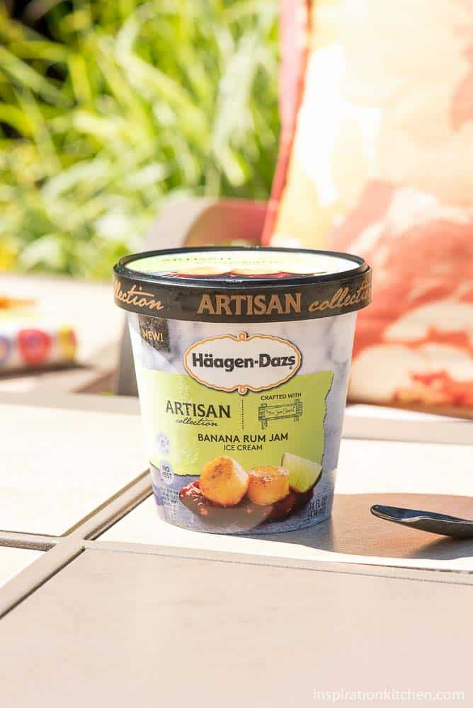 Haagen Dazs Artisan Ice Cream | Inspiration Kitchen