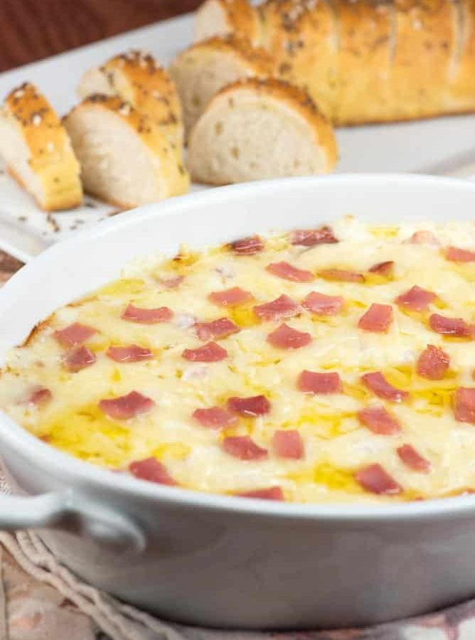 Chicken Cordon Bleu Dip | Inspiration Kitchen