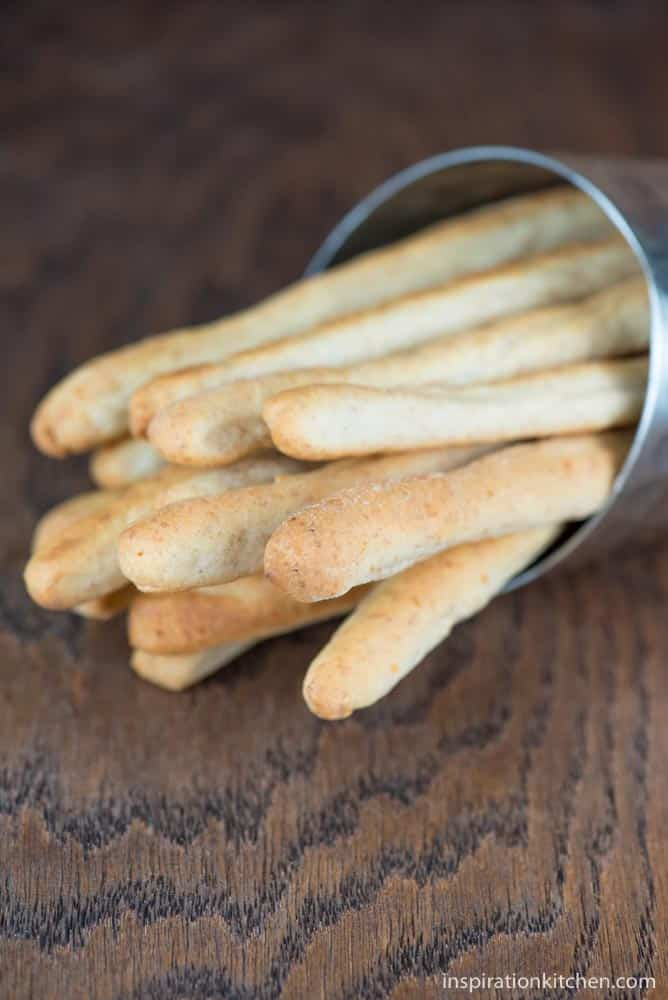 Grissini Italian Breadsticks | Inspiration Kitchen
