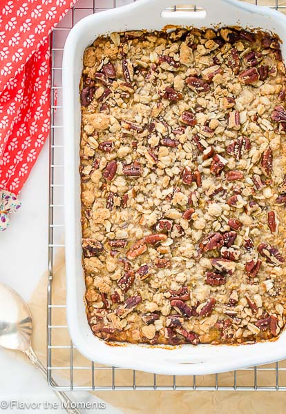 Butternut Squash Casserole with Pecan Oat Streusel-flavorthemoments-com_