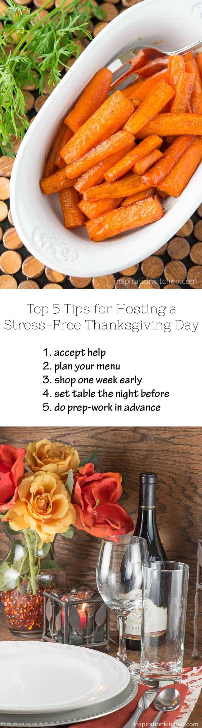 Top 5 Tips for Hosting a Stress-Free Thanksgiving Day - Inspiration Kitchen