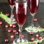 Cranberry Mimosa Cocktail
