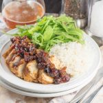 BBQ Cranberry Baked Chicken - inspirationkitchen.com