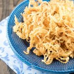 Crispy Beer Battered Onion Strings