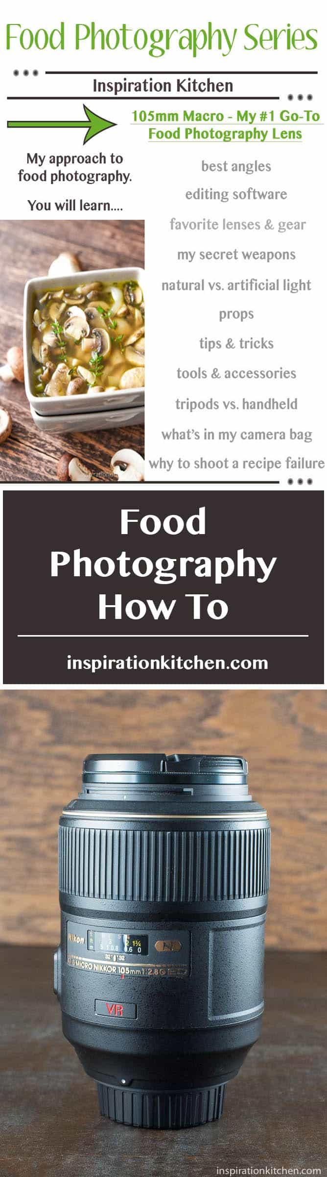 Food Photography How To - inspirationkitchen.com