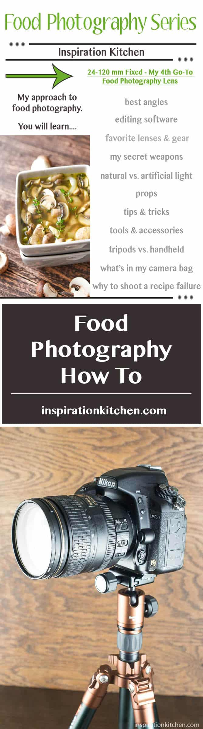 My 4th Favorite Food Photography Lens - 24-120mm Fixed - inspirationkitchen.com