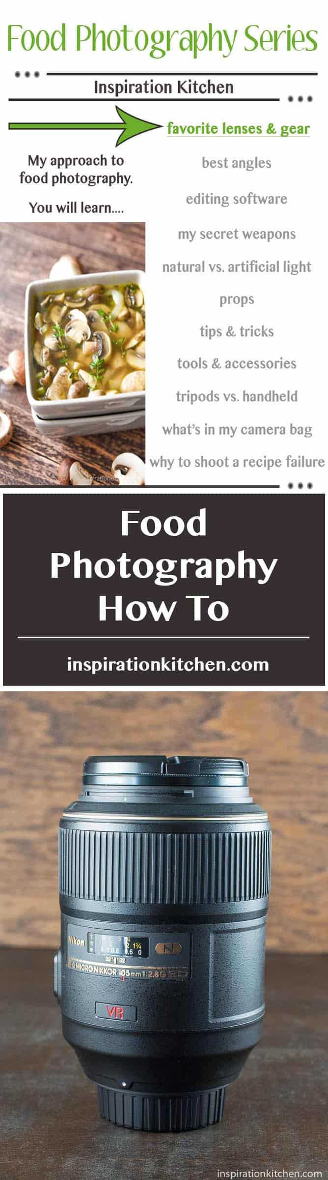 Camera Lenses for Food Photography - inspirationkitchen.com