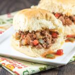 Jalapeno Sloppy Joe Sliders