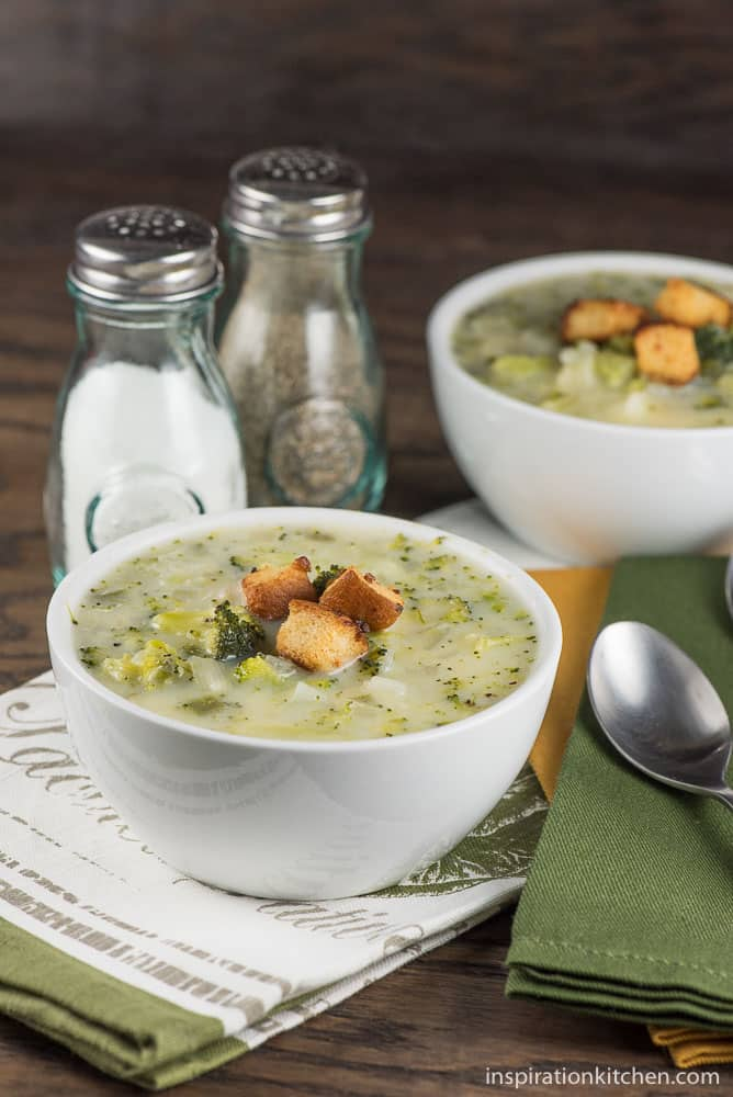 Jalapeno Broccoli Potato Soup - inspirationkitchen.com