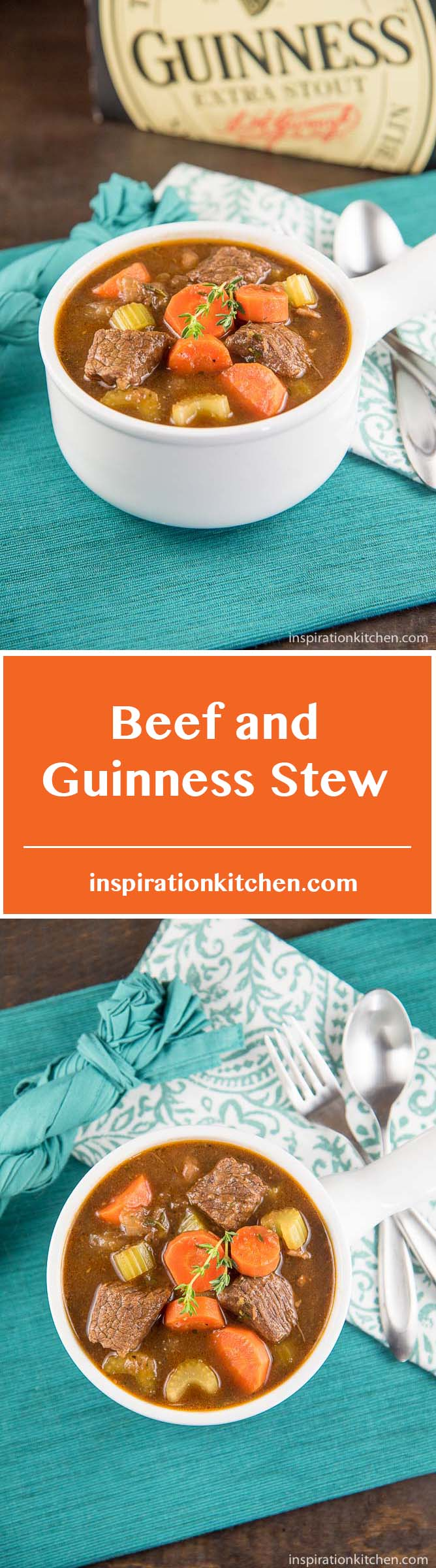Beef And Guinness Stew - inspirationkitchen.com