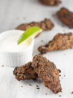Baked Jamaican Jerk Dry Rub Chicken Wings - inspirationkitchen.com