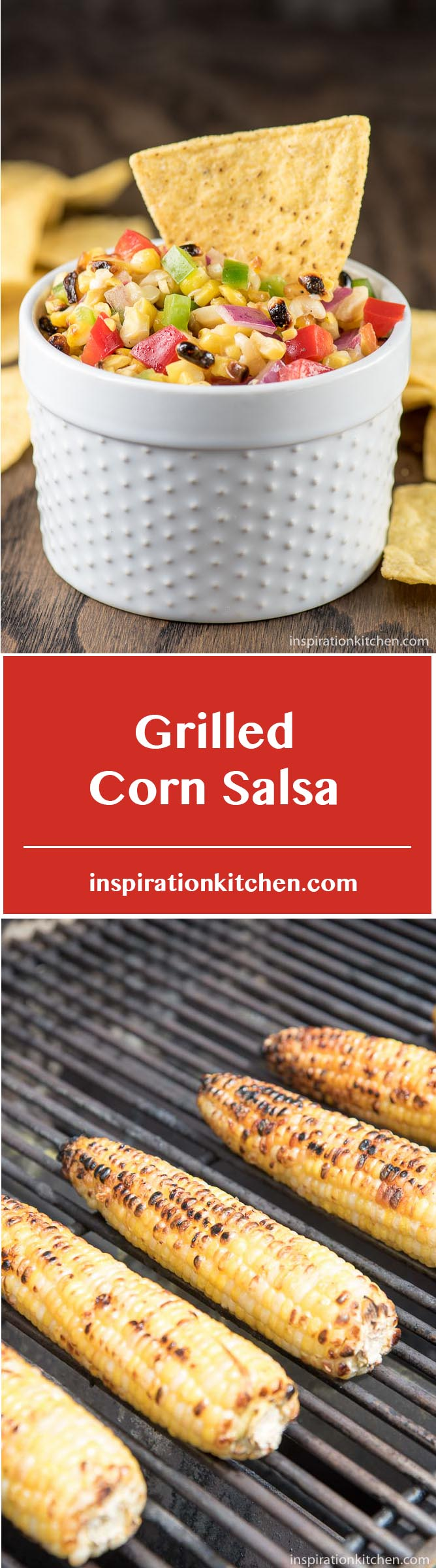 Grilled Corn Salsa - inspirationkitchen.com