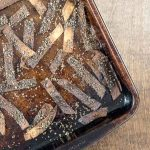 Kitchen Disaster – Crispy Bits – How Not To Make Baked Sea Salt Tortilla Strips