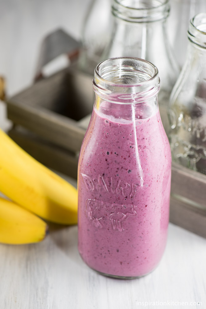 Marionberry Smoothie - inspirationkitchen.com